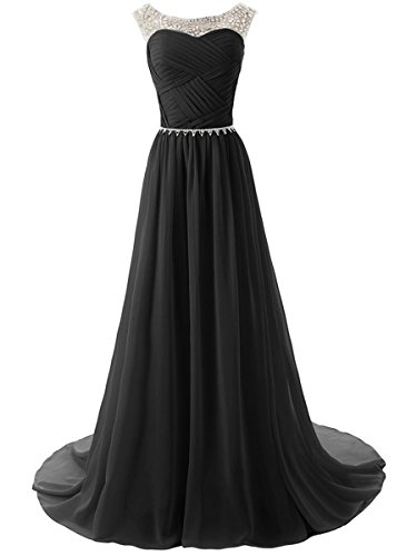Secret Castle lang Party Kleid Chiffon Ball Dresses Damen Kleider U1 ...