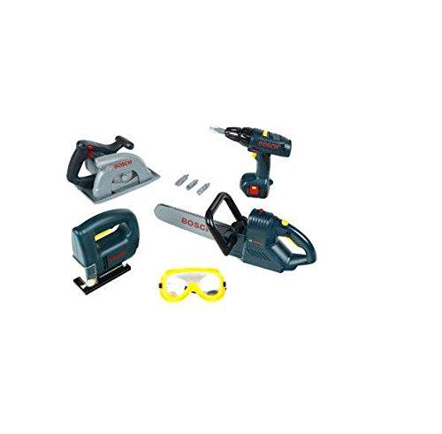 Price comparison product image Bosch mini 8-piece Toy Power Tool Set
