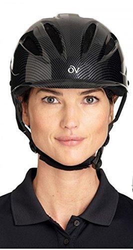 <乗馬乗馬用品馬具>Ovation ERSプロテージヘルメット M-L メタリック   B00OXFUDGO