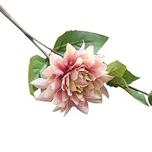 YHCWJZP 1Pc Artificial Fake Flower Bud Leaf Home Bridal Wedding Party Festival Decor - Light Purple 99