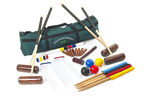 Garden Games Townsend Full sized Croquet Set by Garden Games