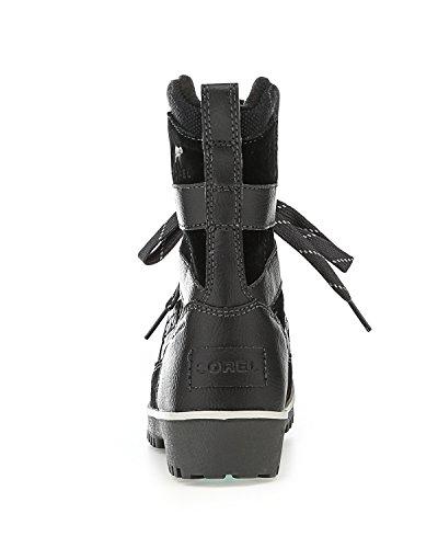 Pictures of Sorel Meadow Lace Winter Snow Boot Shoe - Black/dark Grey 4