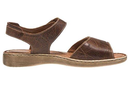 Josef Seibel Schuhfabrik GmbH Lisa 01 73715 95 517 - Sandalias clásicas de cuero para mujer Bark SS17