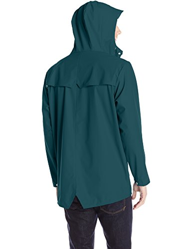 Teal Dark Verde Rains para 40 Hombre Impermeable Jacket qwzYa1