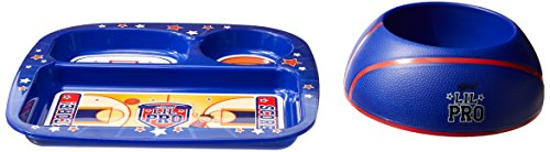 Lil Pro Basketbowl Feeding Set, Blue