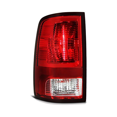 VIPMotoZ 2009-2017 Dodge RAM 1500 2500 3500 Tail Lights - [Factory Style] - Rosso Red Housing, Driver Side