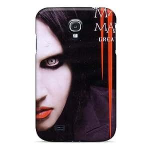 Samsung Galaxy S4 EWC9657AsQW Unique Design Stylish Marilyn Manson Band Skin Best Hard Cell-phone Cases -ErleneRobinson