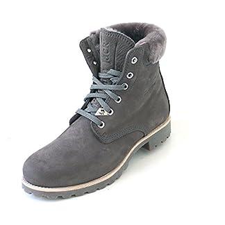 Panama Jack Women's Panama 03 Igloo Combat Boots, Grey (B20 Nobuck Gris), 4 UK 18