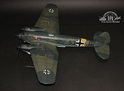 Heinkel He 111 P-1 1:32 (completed) Pro Built Model (Bonus 03 Painted 1:32 Luftwaffe Pilots)