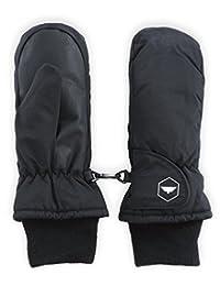 Guantes de nieve de invierno y manoplas de esquí–jóvenes mitones para niños diseñado para esquí y snowboard–impermeable, térmico carcasa de nailon y palma de piel sintética–se adapta a bebés, Junior niños y niñas