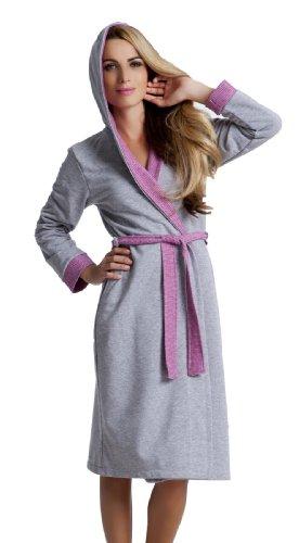 DN de Nightwear Mujer – y – Bata de baño con capucha: Amazon.es: Ropa y accesorios