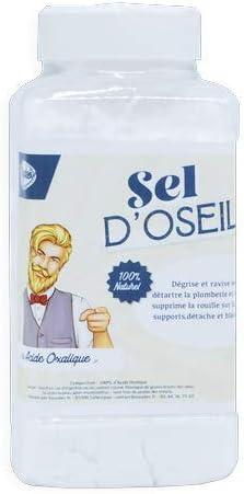 Sal d'Osella/ácido oxalico 800 gr – Guía de uso