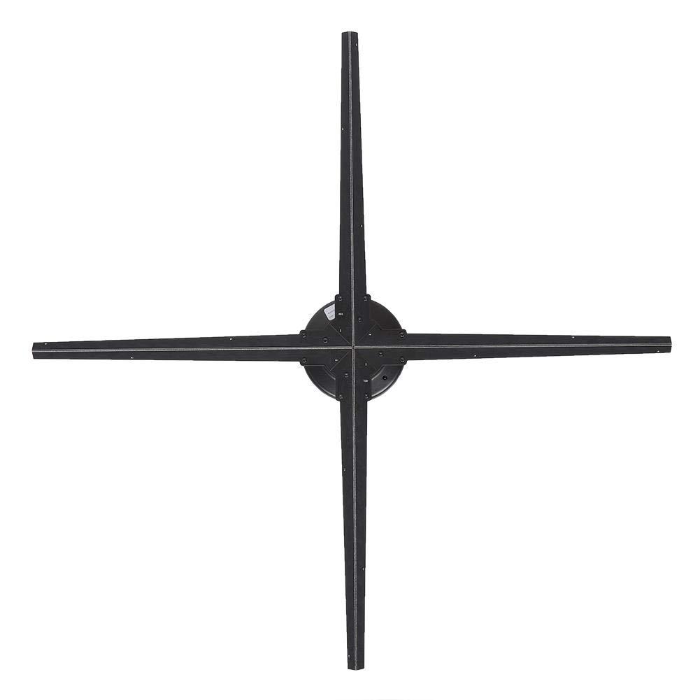 3dホログラム広告プロジェクター プロジェクター wifi 3d 3D広告機 1024 * 1024高解像度 28インチ 超大型3D効果 160°の視野角 電話アプリ制御 18ヶ月メーカー品質保証(us plug) B07R2C91LT us plug