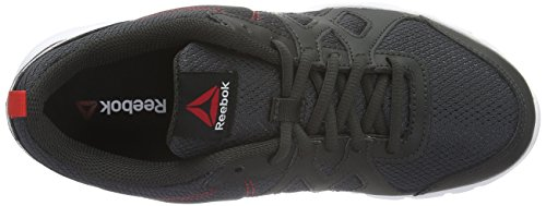 Reebok Damen Trainfusion Nine Gymnastikschuhe Grau (coal/Riot Red/White/Black)