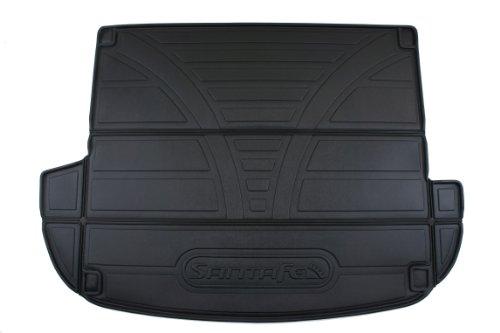 Genuine Hyundai Accessories U8120-2B500 Black Cargo Tray for Hyundai Santa Fe (Black Cargo Tray)
