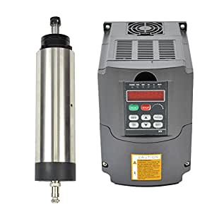 1.5KW 220V Air Cooled Er16 CNC Spindle Motor and 1.5kw 220v Vfd Variable Frequency Drive