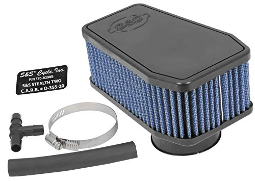 S&S Cycle 1700298A Stealth Two Air Cleaner Kit
