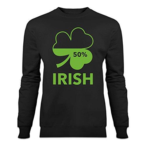 Shirtcity Irish 50 Percent Sweatshirt XXL Black - Xxl 50 Cent