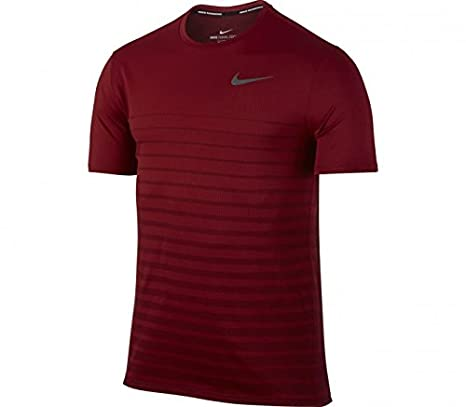 Nike NIKE M NK ZNL CL RELAY TOP SS GX dunkelrot: