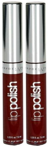 - Maybelline Lip Polish #04 PLUM SHINE (Qty. of 2 tubes)DISCONTINUED