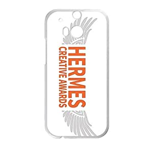 Happy Hermes design fashion cell phone case for HTC One M8