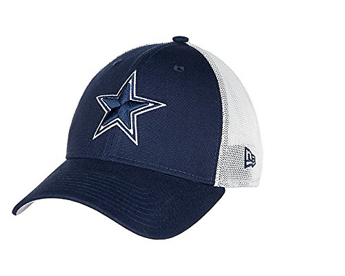 buy popular f22a3 91633 ... amazon dallas cowboys new era 9forty trucker duel mesh adjustable hat  cap 9a604 dc543