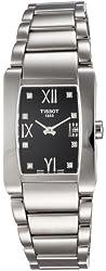 Tissot Women's T0073091105600 T-Trend Generosi-T Black Dial Stainless Steel Watch