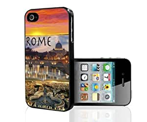 Beautiful Rome, Italy At Sunrise Vacation Spot Hard Snap on For SamSung Galaxy S4 Mini Phone Case Cover (For SamSung Galaxy S4 Mini Phone Case Cover )