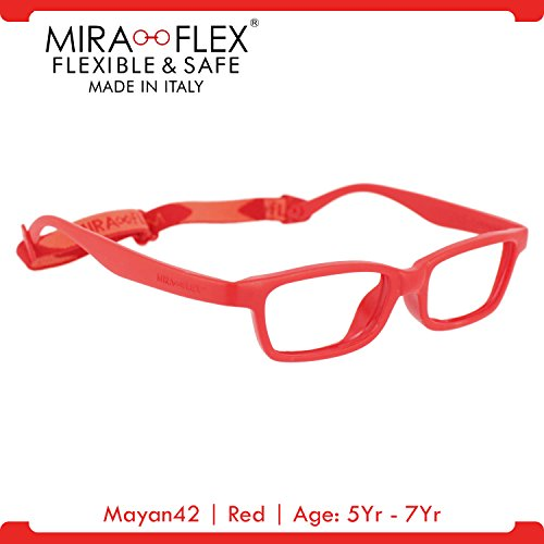 Miraflex MAYA Modified Eye Glass Frame w/ Extended Heel 42/15 - Eyeglasses Eyewear Miraflex