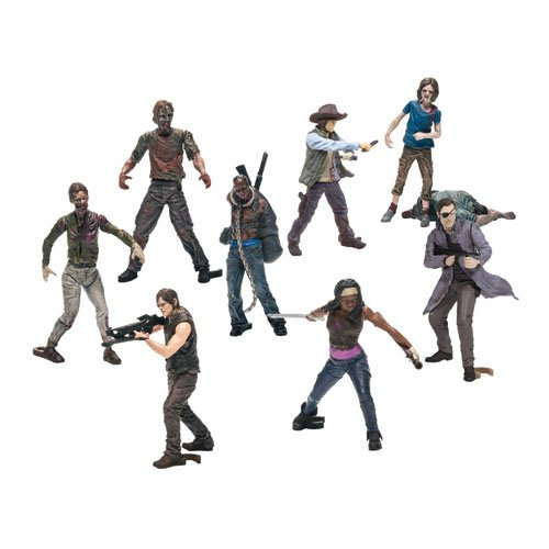 McFarlane Toys Building Sets- The Walking Dead TV Blind Bag Figures (Humans and Walkers Will Vary)]()