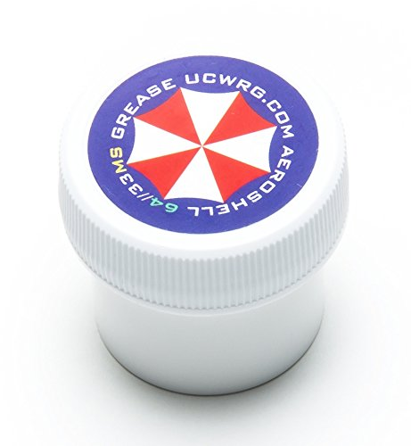 Umbrella Corporation AeroShell 33MS Grease/ .5 Ounce Jar / MIL-SPEC Barrel Nut Thread Grease / Perfect Size for Gun Builders (Barrel Nut Ar)