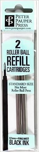 Roller Ball Pen Refill Rollerball Pen 2-Pack