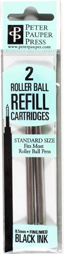 Roller Ball Pen Refill (2-Pack) (Rollerball Pen) (Designer Pens)