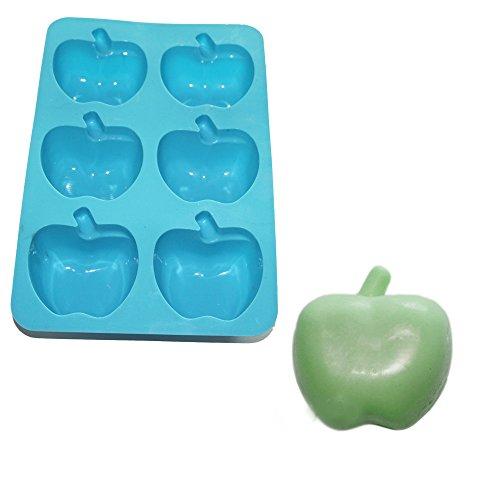 - X-Haibei Apple Soap Chocolate Cake Gelatin Silicone Baking Mold Teacher Appreciation Gift