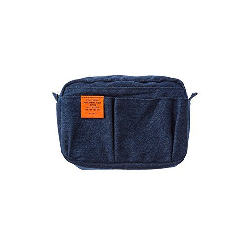 [DELFONICS] Inner Carrying Bag Denim Pouch Case Bag In Bag Size S 500095 A by Delfonics