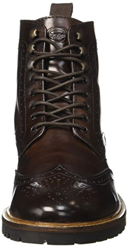 Marrón Brown Botines London Troop Washed 208 Hombre Base p78vqw