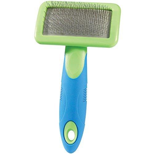 ugroom Slicker Brushes with Steel Pins - Ergonomic Slicker Brushes for Dog Grooming - Small, 63/4 x 33/4 by (Ugroom Slicker)