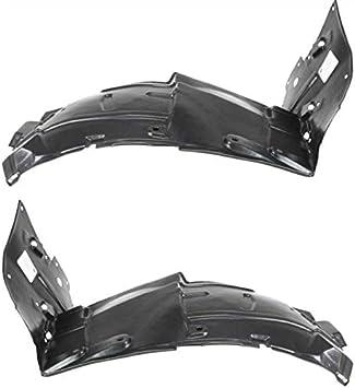 New Fender Liner Splash Shields For Infiniti FX35,FX45 Front Left /& Right Pair