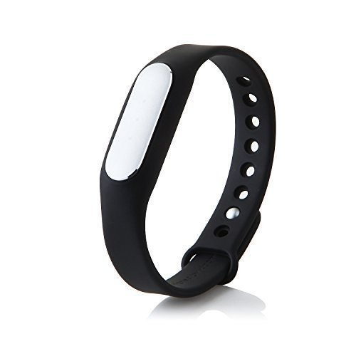 Xiaomi Mi Band 1s Pulse Pulsmesser IP67 Smart Bluetooth 4,0 Armband Armband Schlaf-Monitor Smart Meter Schritt (schwarz)