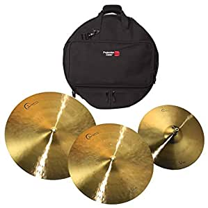 dream 15 18 22 dream bliss cymbal set w gator 22 backpack cymbal bag musical. Black Bedroom Furniture Sets. Home Design Ideas