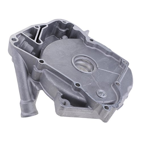 D DOLITY Cubierta de Cárter de Estator de Motor Parte Reemplazable de GY6 - Plata 125 150cc