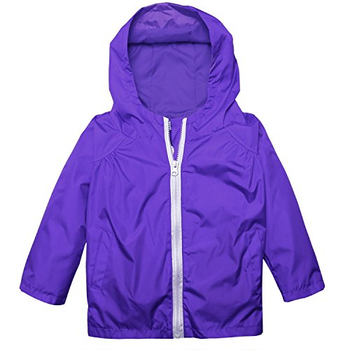 Zip Front Wind Jacket - 1