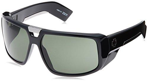 Spy Optic Touring Sunglasses,Shiny Black Frame/Grey Lens,one ()