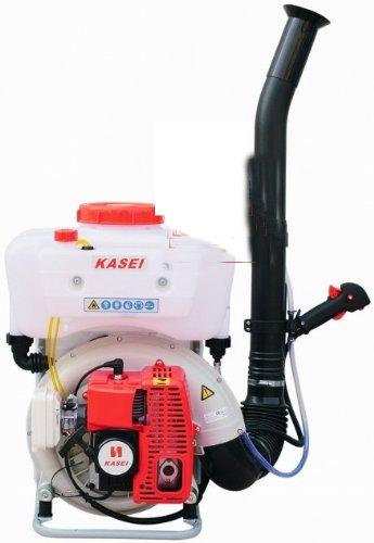Pulverizador - soplador de mochila Kasei con motor de combustió n interna (gasolina) 63, 5 cc - 16 lt.
