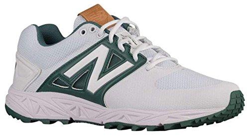 New Balance Mens T3000v3 Turf Shoes White/Green – DiZiSports Store