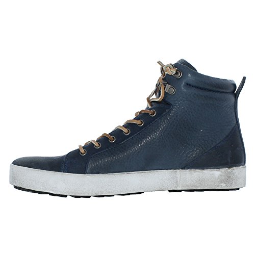 Blackstone Heren Mid-top Sportmode Sneaker Indigo