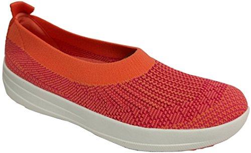 6828af1a2 Galleon - FitFlop Trade  Womens Uberknit Trade  Slip-On Ballerina ...