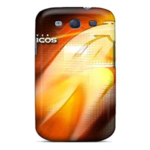 Protective Tpu Case With Fashion Design For Galaxy S3 (denver Broncos)