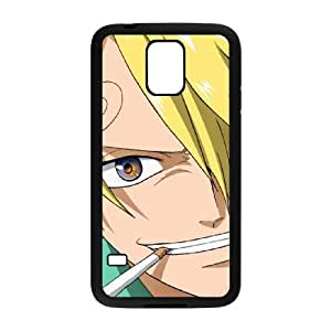 Samsung Galaxy S5 Cell Phone Case Black ONE PIECE Sanji 4 (2) VA2497361