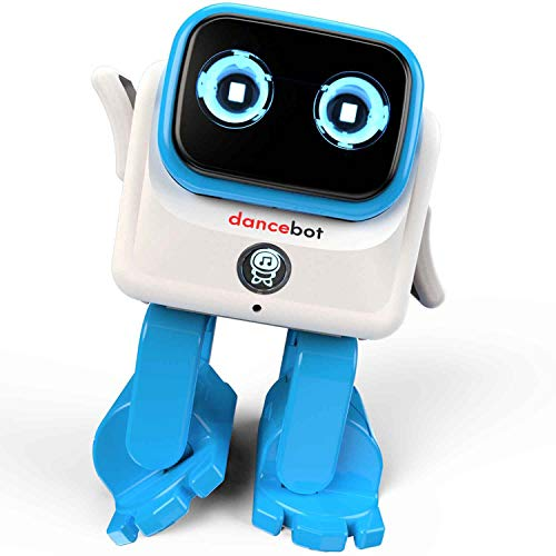 Echeers Kids Toys Dancing Robot for Boys and Girls, 2 Pack Educational Dance Robot Toys for Kids with Stereo Bluetooth Speakers, Rechargeable and Follow Music Beats Rhythm, All Age Children -Red, Blue by ECHEERS (Image #4)